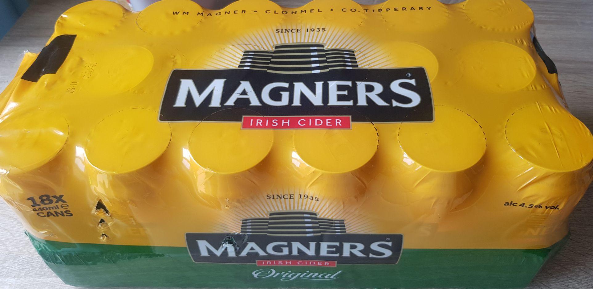 Magners Original Apple Irish Cider £9 for 18 x 440ml at Morrisons Reddish Manchester