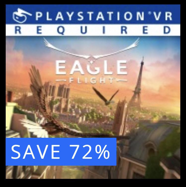 Eagle Flight for PlayStation PSVR. £9.42 @ PSN