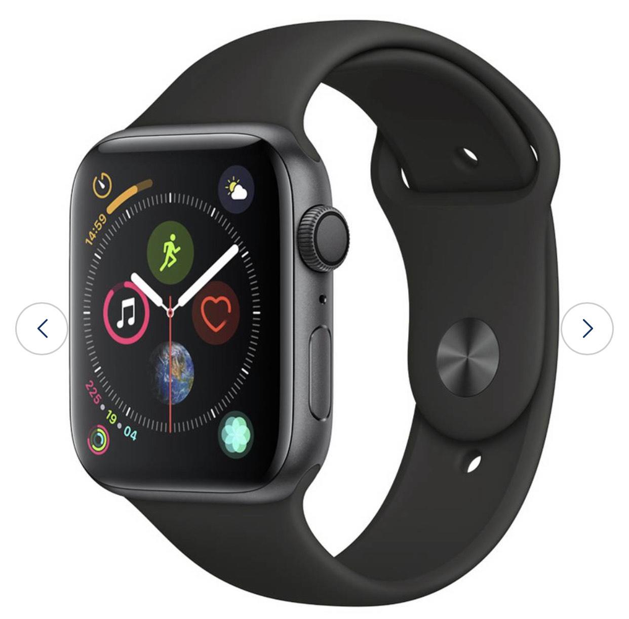 Apple Watch S4 GPS 44mm - Space Grey Aluminum / Silver Aluminium / Gold Aluminium (GPS Only) - £299 @ Argos