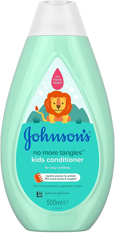 JOHNSON'S No More Tangles Kids Conditioner 500ml pH Balanced - £2 (Prime) / £6.49 (None Prime) Delivered @ Amazon