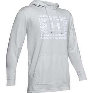 Under Armour Sportstyle Cotton Hoodie, Halo Grey / White - £18 delivered @ Wiggle