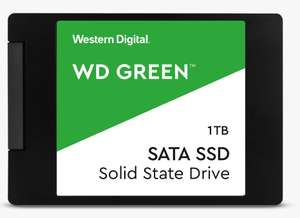 """WD Green SSD 2.5""""/7mm 1TB - 545MB/s R- 3 years limited Warranty - £87.29 With Newsletter Code @ Westerndigital Shop"""