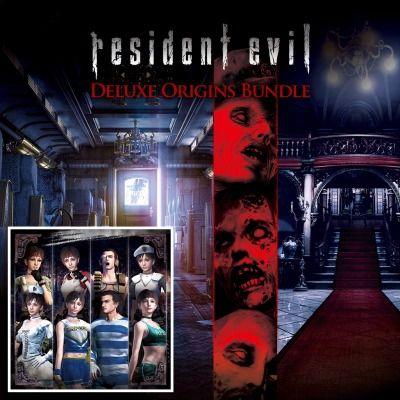 [PS4] Resident Evil: Deluxe Origins Bundle Inc Resident Evil & Resident Evil 0 + Costumes - £7.99 @ PlayStation Store