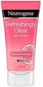 Neutrogena Refreshingly Clear Daily Exfoliator 150ml £3.00 Prime (+£4.49NP) (£2.85 with Subscribe and Save) @ Amazon