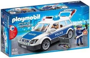 Playmobil City Action 6920 Police Car with Light and Sound Effects - £25.00 @ Amazon