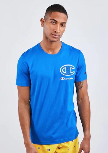 Champion Logo - Men T-Shirt £9.99 delivered @ Footlocker