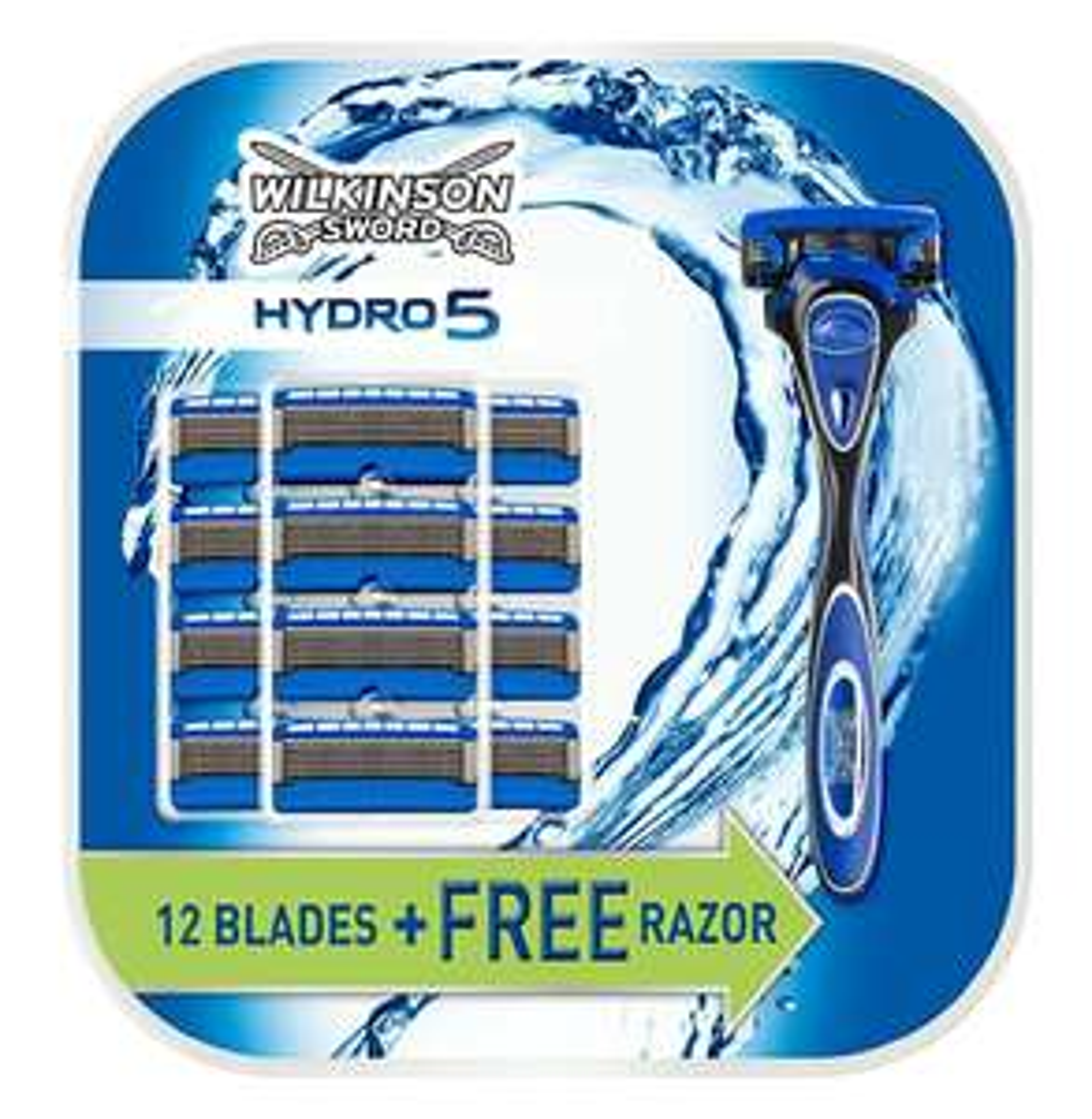 Wilkinson Sword Hydro 5 handle with 13 blade refills - £20 @ Amazon