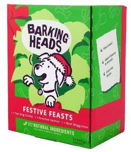 Barking Heads Wet Food Sachet Deal £24.95 plus delivery of £4.99 for 30 x sachets - £29.94 at Barking Heads