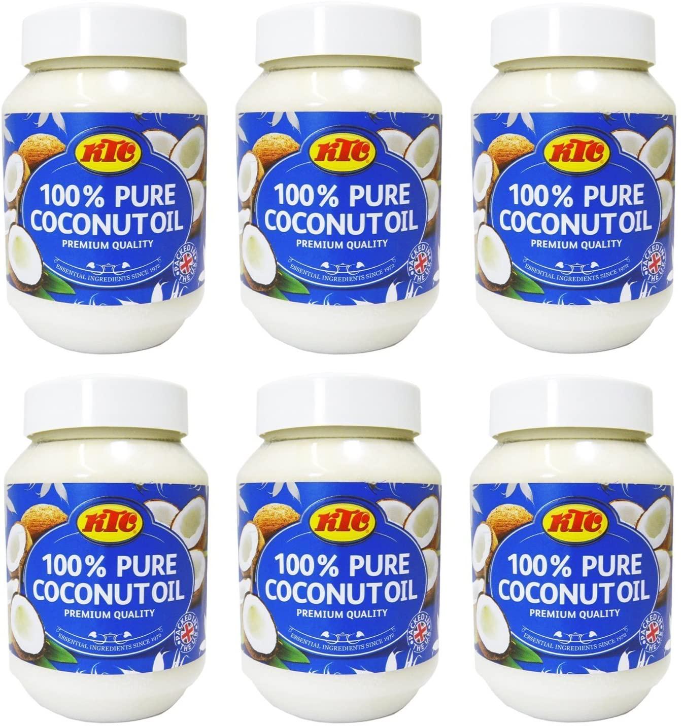 KTC 100% Pure Coconut Multipurpose Oil 500ml Jar x 6 Qty (pack of 6) for £10.50 (Prime) / £14.99 (Non Prime) delivered @ Amazon