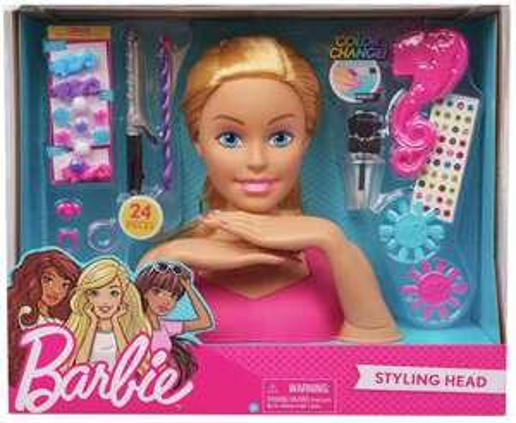 Barbie Flair Barbie Mini Blonde Styling Head £7.99 pre-order (Prime) + £4.49 (non Prime) at Amazon