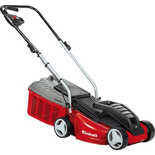 Einhell GE-EM 1233 Electric Lawn Mower, 1250W, 30 cm Cutting Width - £75.95 delivered @ Wickes