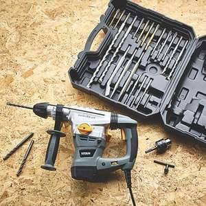 Titan TTB631SDS 6.3kg SDS Plus Drill - Includes a 22 Piece Accessory Kit + 2 Year Guarantee - £69.99 Delivered @ Screwfix