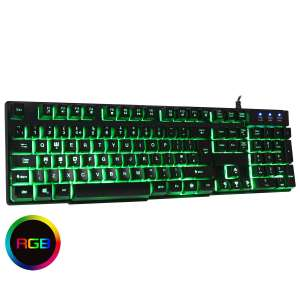 CiT Builder Wired RGB Gaming Keyboard £11.85 delivered from CCL.
