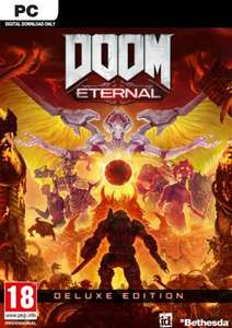 DOOM Eternal Deluxe edition + preorder DLC - £39.99 (PC, Bethesda.net) @ cdkeys.com