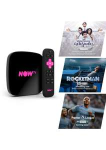 NOW TV 4K SMART BOX - including 4 NOW TV Passes on NOW TV - £24.99 Delivered @ Simply Games