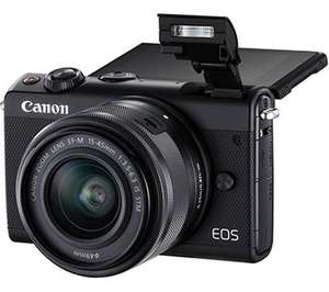 Canon EOS M100 mirrorless camera with EF-M 15-45mm f/3.5-6.3 IS STM lens, £299.97 from Currys
