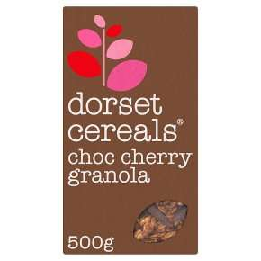 Dorset Cereals Choc Cherry Granola 500g £1 at Heron Foods Abbey Hulton