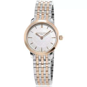 Frederique Constant Slimline Ladies' Two-Tone Bracelet Watch - £382.50 delivered with discount at checkout @ Ernest Jones
