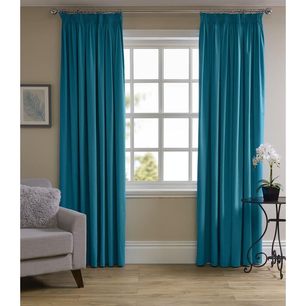 Wilko Summer Sale - Teal Curtains - £25 Delivered