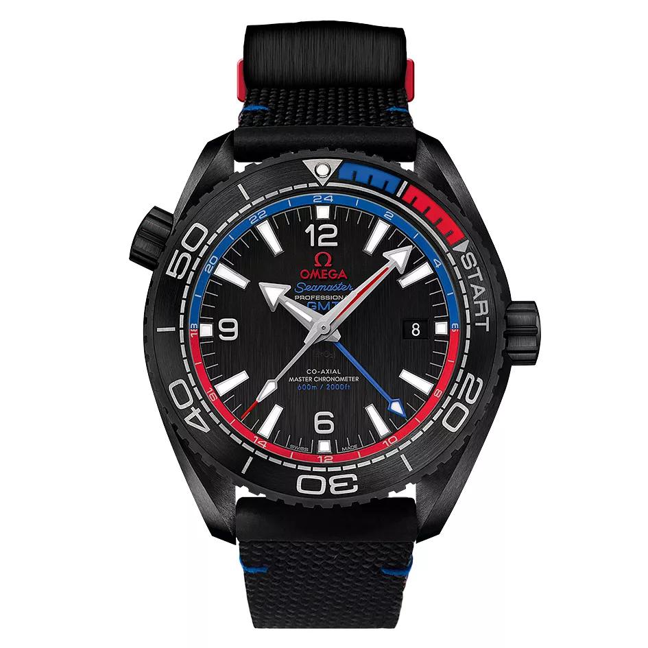 Omega Seamaster Planet Ocean Men's Black Rubber Strap Watch (auto 15% + 3.3 TCB ) £5096 @ Ernest Jones