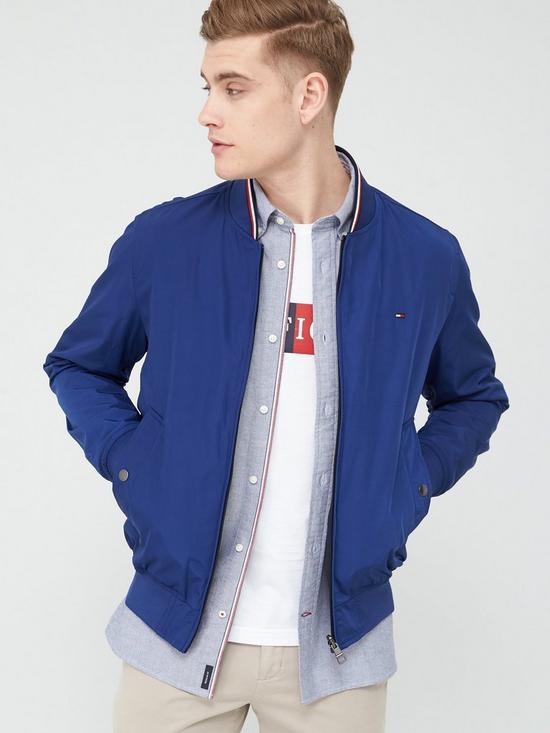 Tommy Hilfiger Reversible Bomber Jacket - Blue Ink £133 @ Very (Get 20% cashback via Credit Buy Now Pay Later Code)