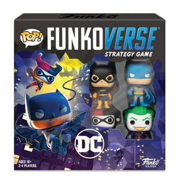 POP! Funkoverse Strategy Game DC Comic inc Batman / Joker / Harley / Batgirl Funko Pops £19.99 delivered @ Smyths