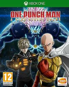 One Punch Man: A Hero Nobody Knows + Bonus DLC (Xbox One) £29.85 delivered @ Simply Games
