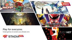 Power Rangers: Battle for the Grid/ Panzer Dragoon/ SUPERHOT/ Get Packed/ Little Nightmares - FREE @ Google Stadia Pro