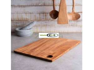 Wooden Chopping Board Slim 29.5 x 20 x 0.4cm - £2.49 delivered @ webcharm ebay