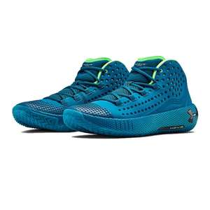 Under Armour Teal colourway HOVR HAVOC 2 Basketball Trainers £44.99 @ SportsShoes.com