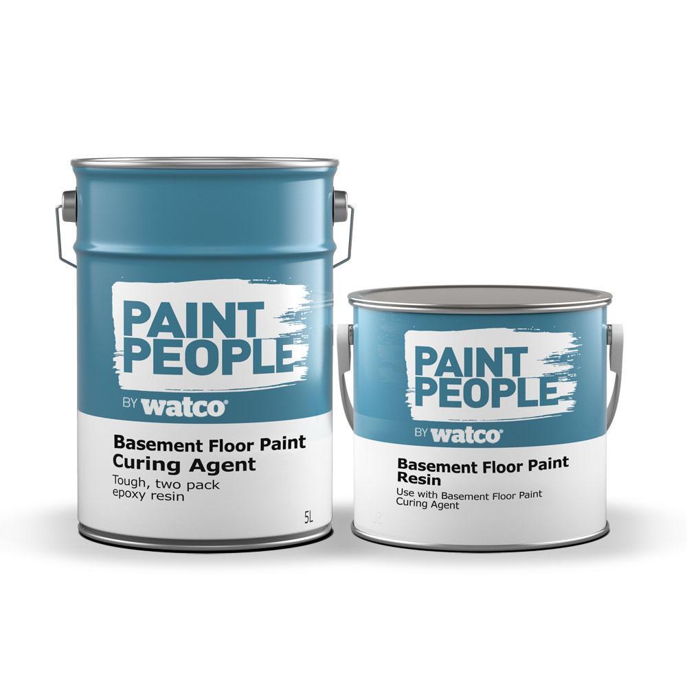 Garage floor paint - 2 part epoxy 5L £14.99 @ Paint People (£5.50 P&P / Free Over £24)