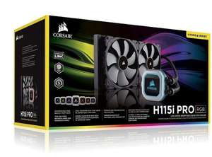 Corsair H115i PRO RGB black £107 Open box @ Currys_Clearance eBay