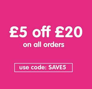£5 off £20 spend at Early Learning Centre