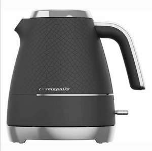 BEKO Cosmopolis WKM8307B Kettle - Black & Chrome - Damaged Box at currys_clearance ebay