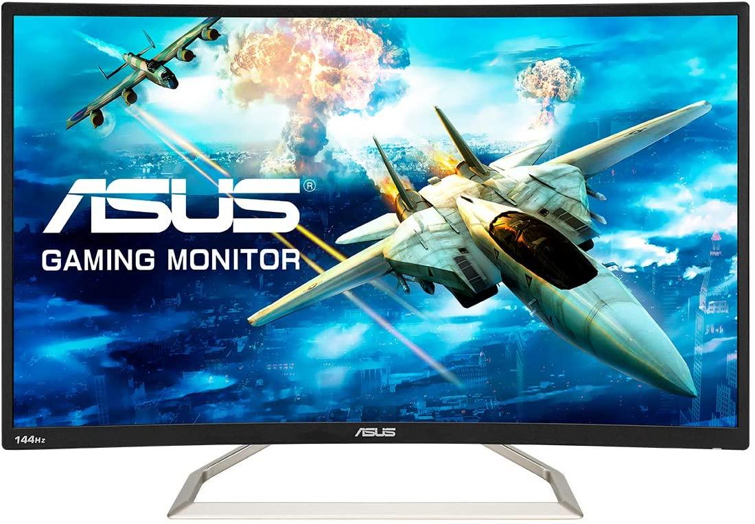 "ASUS VA326HR Curved 32"" FHD Freesync 144Hz VA Vesa Gaming Monitor, £199 at Currys"