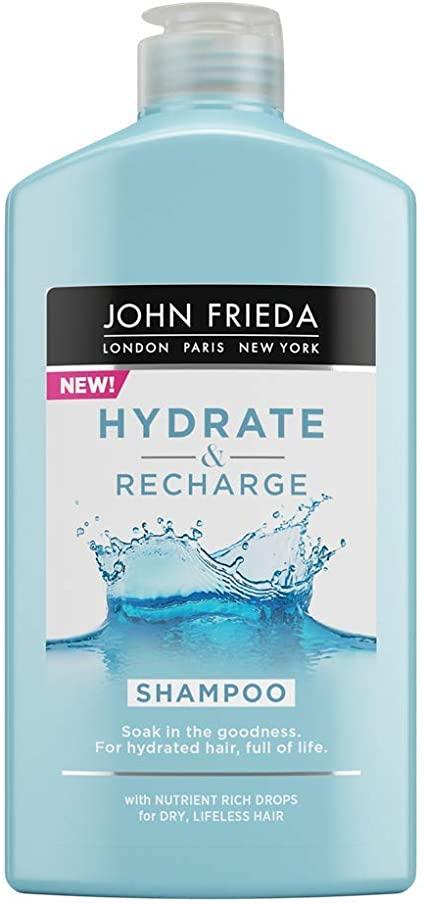 Hydrate & Recharge John Frieda Shampoo for Dry, Lifeless Hair, 250 ml £3.19 Amazon Prime / £7.68 Non Prime