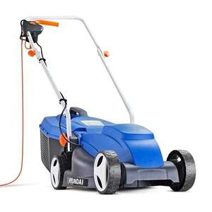 Hyundai HYM3200E Electric 1000w Lawn Mower 32cm/12.5in 240v £69.90 delivered @ Mad4Tools