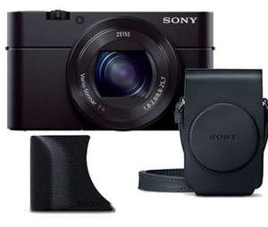 Sony Cyber-shot RX100 III Digital Camera with Grip and Case - Ex Display £299.97 @ Jessops