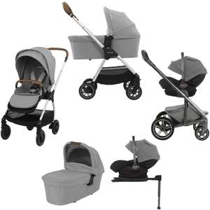 Nuna Triv and Arra i-size recline car seat travel system with carry cot £649.95 at Online4baby