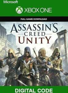 Assassin's Creed Unity - Full Game Key - Xbox One - only £1 (fees not applied) @ Eneba - via Exclusive Skins. £1.17 Inc fee with Boku