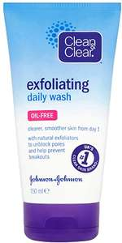 Clean & Clear Exfoliating Daily Wash 150 ml - £2 at Amazon Prime / £6.49 Non Prime @ Amazon