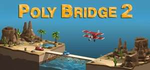 Poly Bridge 2 (released today) only £1.99 on Epic games Store. Misprice?