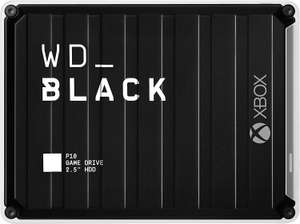 WD BLACK 5 TB P10 Game Drive for Xbox One for On-The-Go Access To Your Xbox Game Library £123.99 @ Amazon