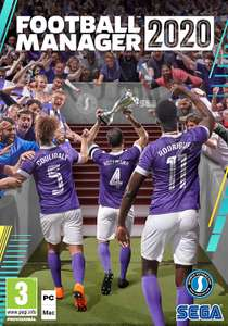 Football Manager 2020 PC DVD - £24.99 on Amazon