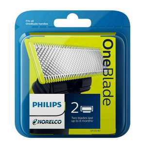 Philips OneBlade Replacement Pack x2 - £10.99 delivered using email discount @ Philips Shop