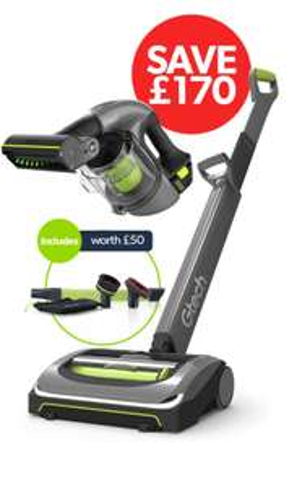 Gtech AirRam Cordless Vacuum with car accessory kit - £229.98 @ Gtech Store