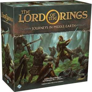Lord of the Rings: Journeys in Middle Earth Board Game - £60.75 delivered with code @ Chaos Cards