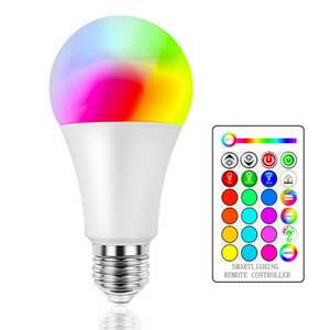 RGBW LED Bulb 4W £1.67 / 10W £2.50 / 15W £3.34 Delivered @ AliExpress Deals / HakLei Store