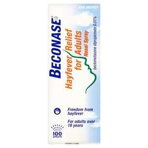 Beconase Hayfever Relief for Adults Nasal Spray 100 Sprays - £2.99 / 2 for £4.48 @ Superdrug (£3 delivery / free for members over £10)