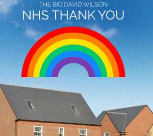 David Wilson Homes 5% Deposit Contribution for NHS Workers buying a new home (Upto £15,000)